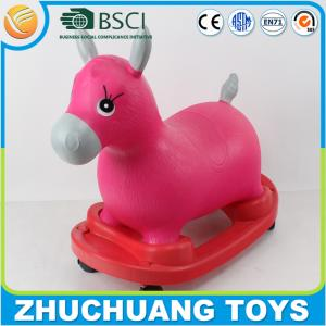 China riding toy horse on wheels for kid and adult on sale
