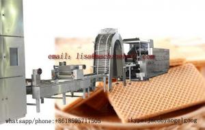 China Automatic Wafer Biscuit Production Line Manufacturer With Factory Price|Electric Heating Wafer Processing Plant on sale