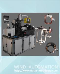 China Starting motor stator magnetic field coil winding flat copper wire rectangular coil winder on sale