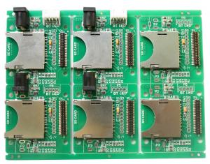 China Electronic Board DIP Service 4 Layer SMT PCB Assembly on sale