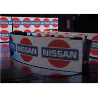 China Flexible Indoor P5 Curved Led Video Wall For Advertising , 5MM Pixel Pitch on sale