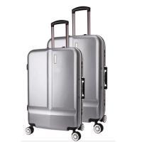 Custom OEM PC Durable Trolley Luggage Travel Suitcase Lightweight On Wheels