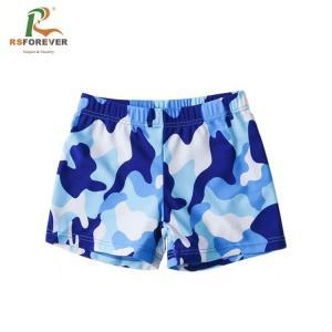 China fashion summer child digital print swimsuit boys swimming trunks kids pants on sale