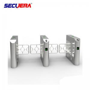 China Supermarket Exit Control Counter Checkout Safety Manual Turnstile Barrier Gate Swing Barrier Gate on sale