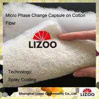 Buy chinese developed Temperature Regulating cotton quilt with phase change material( PCMS)coating layer