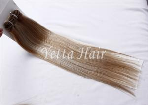 China Customized Unprocessed Brazilian Virgin Human Hair Extensions Mixed Color on sale