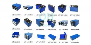 China 3.2 Volt Rechargeable Lifepo4 Battery Cells,3.2 V Lithium Ion/Iron Phosphate Solar Battery, LFP Cells Manufacturer Price on sale