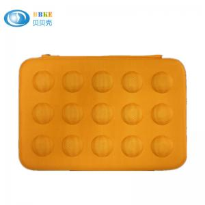 China Nice Yellow Color EVA Laptop Case Shockprood And Waterproof 324*218*40 Mm on sale
