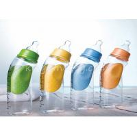 China Standard Neck Baby Plastic Bottles With Silicone Nipple 60 ml~330 ml on sale