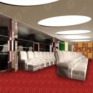 China Comfortable Modern Commercial Carpet Low Loop Jacquard PP Flooring on sale