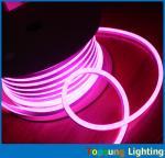 Fashionable 8.5*17mm led neon flex light 30000 lifespan pink rope light