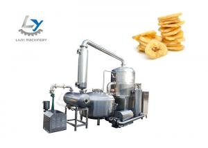 China Sturdy SS 304 Fruit Chips Making Machine Environment Friendly Operate Stability on sale