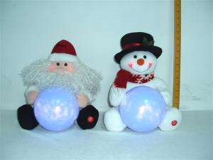 China Santa Claus / Snowman Battery Power Musical Educational Toys for Preschoolers on sale