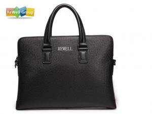 China Laptop Briefcase PU Leather Business Bags Fashion Handbag The Supreme Black on sale