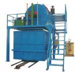 Cadena de producción reciclada automática de la espuma con espuma machacada mezcla del vapor con pegamento