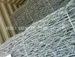 Hot Dipped Galvanized Welded Wire Mesh 3 X 1 X 1m For Water / Soil Protection