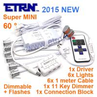 ETRN Super MINI 1W x 6pcs 6W LED dimmable downlight bars led flashes light bathroom washroom Wedding Decorative Light