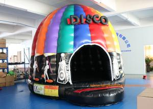 China 4mH 5m Dia Musical Inflatable Air Bouncer / Inflatable Dome Disco Jumping Area on sale