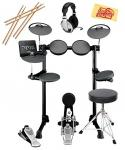 China Yamaha DTX450K Electronic Drum Set Bundle with Drum Throne, Drum Sticks, Headphones, and Polishing Cloth wholesale