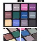 12 Color Eye Makeup Eyeshadow Private Label OEM Glitter Eyeshadow Palette