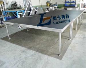 China [Aoka] 1*2M Aluminum Stage Folding Portable stage on sale