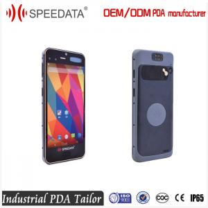China Portable Cell Phone Android Barcode Scanners 5.5 inch Display for Logistics Warehouse Management on sale