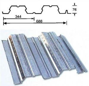 China Hot Dipped Galvanized Metal Floor Decking Sheet Anti-earthquake on sale