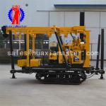 Durable, mobile XYD-130, crawler type core drilling machine , 100 meters crawler mounted water well drilling machine