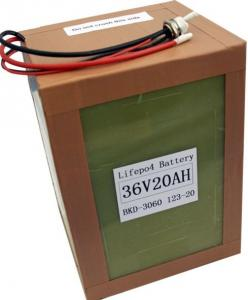 China A123 Battery pack 36v20ah-12S1P for electric vehicle on sale