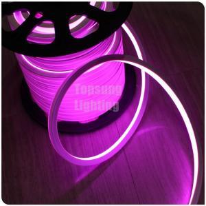 China Wholesale 12 Volt flat pink led neon flex rope light 16x16mm square shape for building on sale