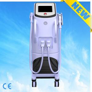 China Vertical Medical Diode Laser Hair Removal Machine With Elight(IPL + RF) System on sale