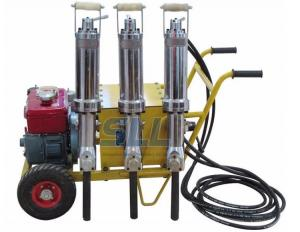 China 6HP Diesel Portable Hydraulic Drilling Machine Hand Rock Splitter Breaker on sale