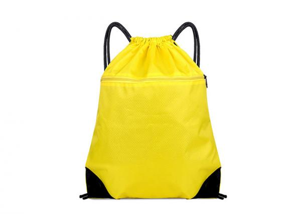 8b4a41362b 210d Polyester Drawstring Bag , Custom Drawstring Backpack Multi - Function  Images