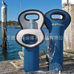 O vinho de empacotamento da garrafa de vinho tinto da forma da fonte dos fabricantes ajusta caixas de empacotamento de pano do mergulho