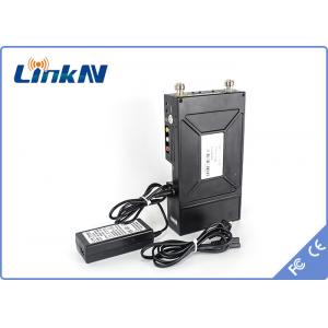 China HD / Composite Wireless hd transmitter 1.55A 12V / 7800mAh For Portable Video Transmission System on sale