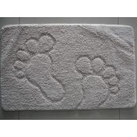 Outside / Inside Carpet Door Mat Footprint , Custom Car Floor Mats Rug