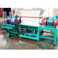 Ling Heng Machinery LHSSM-600 Twin-Shaft Shredder Machine widely used in area of waste plastic, waste rubber, wood, crop
