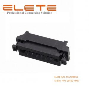 China 2.54mm FPC connector, top and bottom dual contact style, Right angle with ZIF, 07 positions on sale