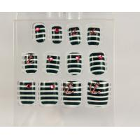 China Stripe professional fake nails / false nail tips / Artificial Nail Art on sale