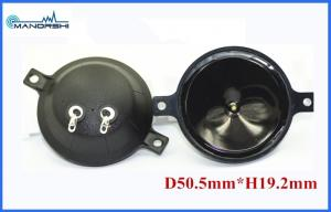 China 20Khz Round Piezo Tweeter Speakers With Mylar Cone Circuit Buzer on sale