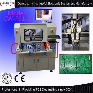 China Router Inline do PWB da máquina do PWB Depaneling com 0,01 precisões de posicionamento on sale