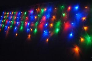 China Icicle color changing led christmas lights on sale