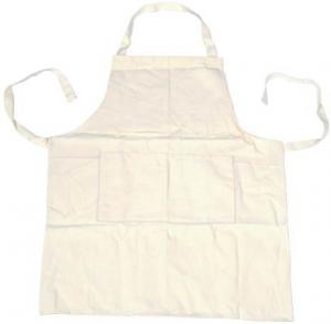China Fashion Style Artist Painting Smock For School Art Teacher Aprons 82.5cm Length on sale