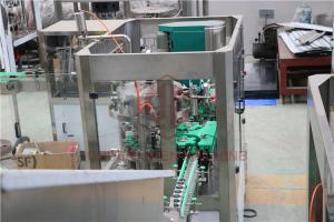 China 250ml Slim Aluminum Can Beverage Filling Machinery Tiny Production Capacity on sale