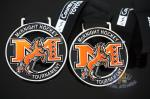 China Mcknight Hockey Sports Club Metal Award Medals, Die casting Medallion With Soft Enamel And Printing Ribbon wholesale