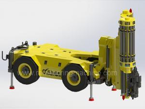 China 22m - 35m Depth DTH Drilling Equipment , Underground DTH Machine Wide Operating Range on sale