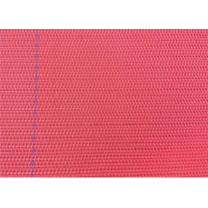 China Woven Paper Machine Clothing Polyester Dryer Fabric Blue / Red Color on sale