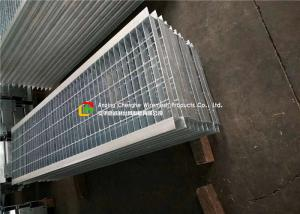 China Angle Bar Welded Steel Grating , Reinforced Concrete Areas Heavy Duty Bar Grating on sale
