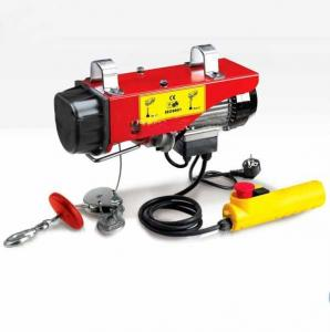 China YT CE Certificated AND trade assurance supplier for mini electric wire rope hoist on sale