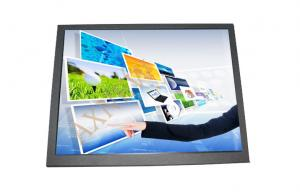 China Thin Vertical Industrial LCD Touch Screen Monitor 300cd/m^2 Brightness on sale